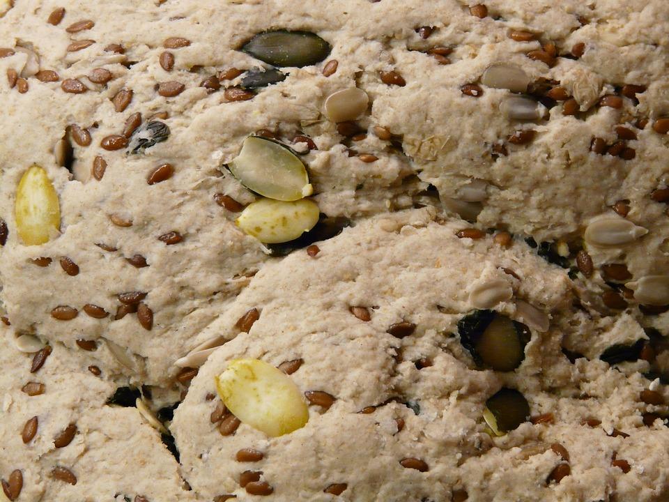 Dough, Grains, Ingredients, Sesame, Pumpkin Seeds