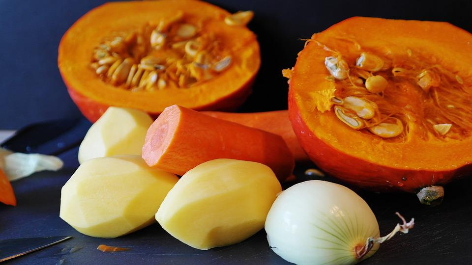 Hokkaido, Pumpkin, Squash, Pumpkin Soup, Preparation