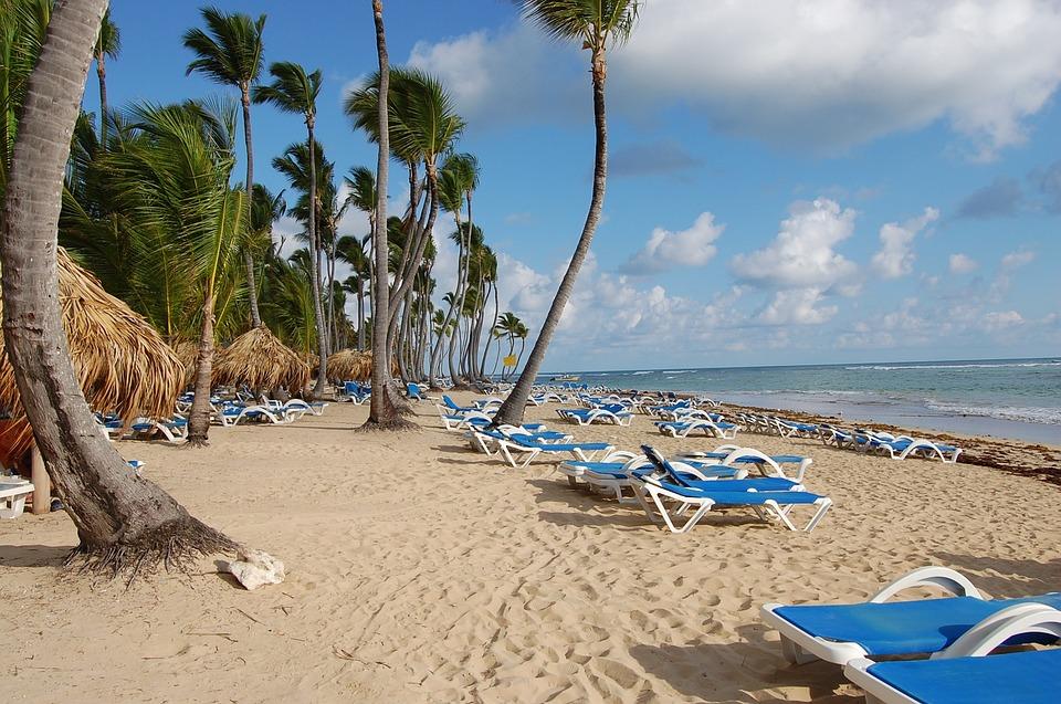 Punta Cana, Caribbean, Palms, Hotel, Nature, Beach