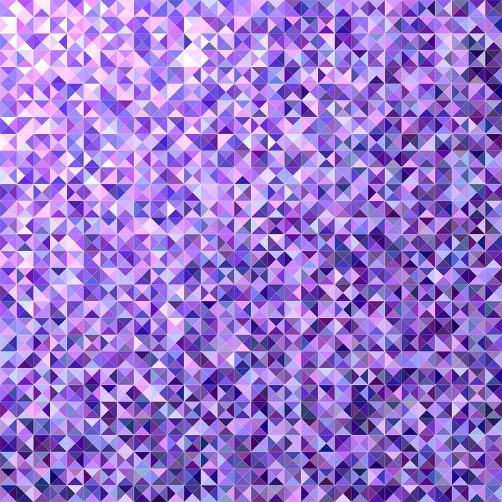 Purple, Triangle, Background, Design, Color, Polygon