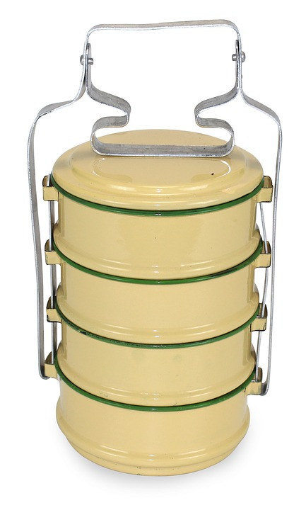 Container, Food Carrier, Put Food