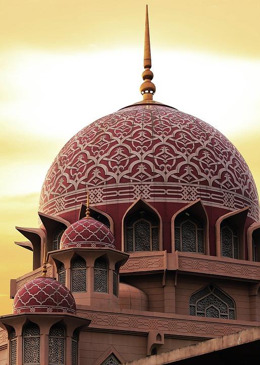 Mosque, Malaysia, Putrajaya, Islam, Travel