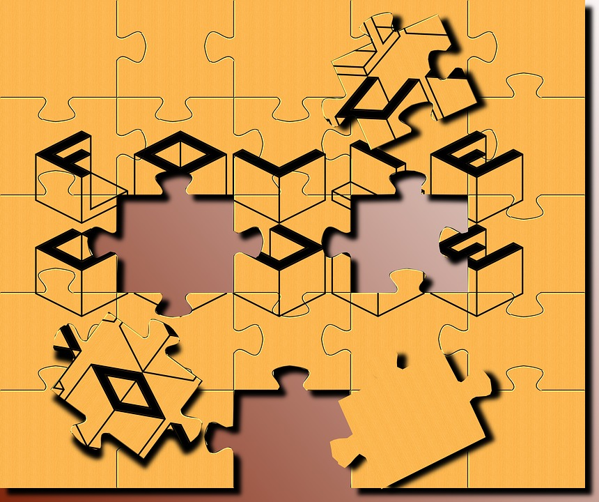 No Person, Puzzle, Geometry, Texture, Color