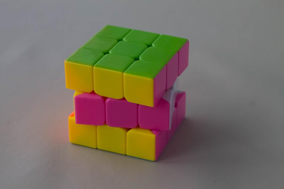 Brain, Cube, Abstract, Toy, Think, Palm, Puzzle