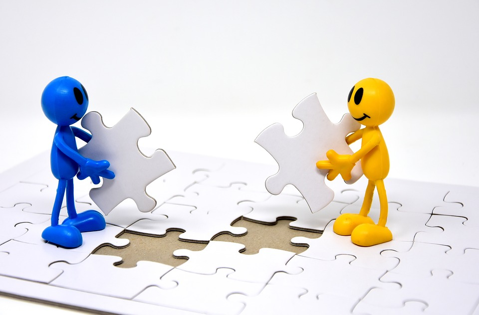 Teamwork, Together, Objectives, Create, Puzzle