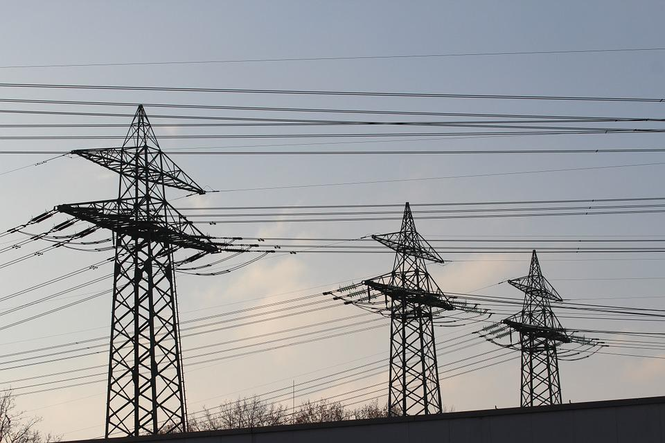 Strommast, Current, Electricity, High Voltage, Pylon