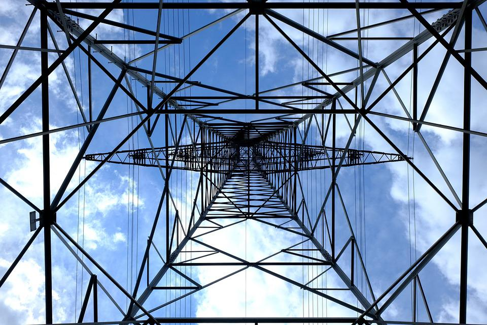 Pylon, Current, Electricity, Strommast, Power Line