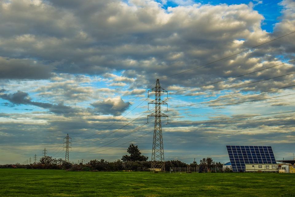High Tension, Pylon, Power, Energy, Electricity