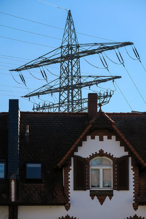 High Voltage, Pylon, Power Line, Strommast, Electricity