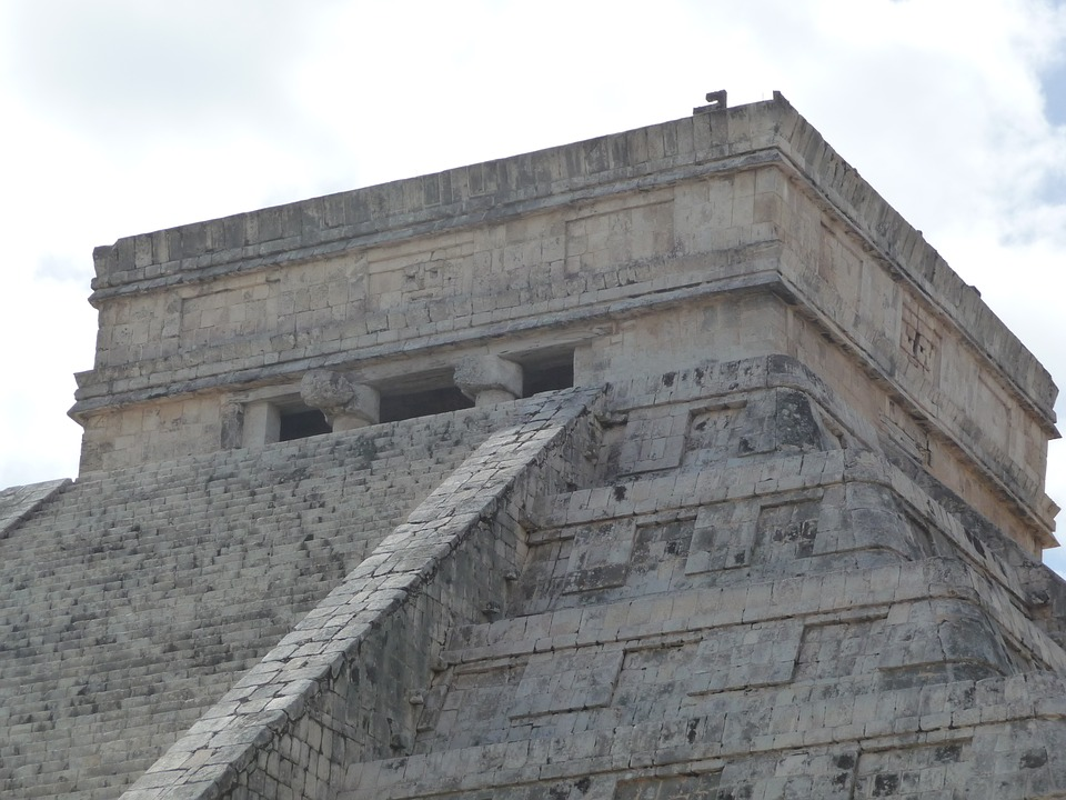 Pyramid, Yucatan, Mexico, Chitz