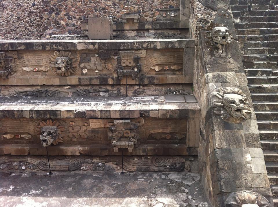 Quetzalcoatl, Mexico, Pyramid