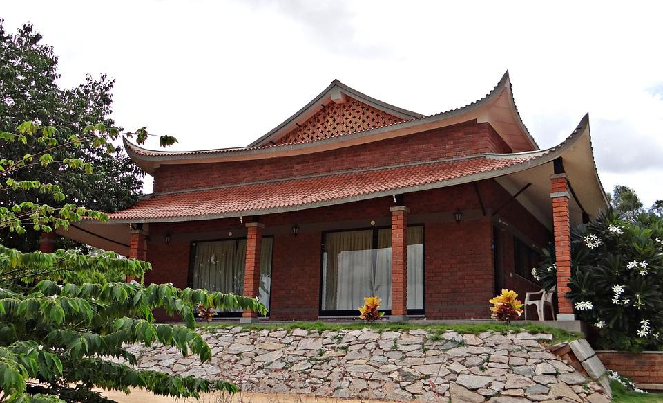 Cottage, Pagoda-style, Pyramid Valley, Bangalore, India