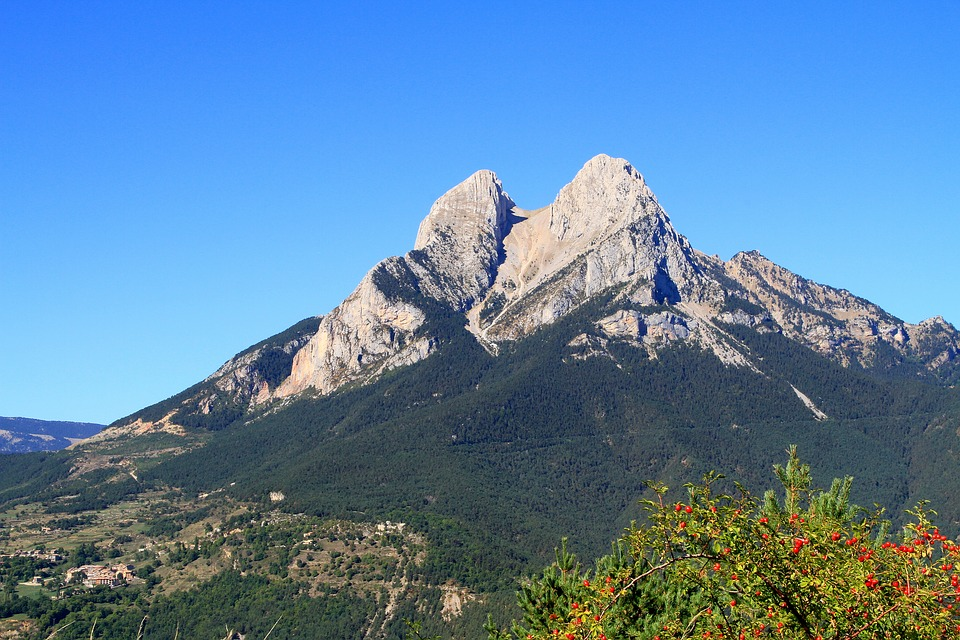Pedraforca, Mountain, Pyrenees, Landscapes, Nature