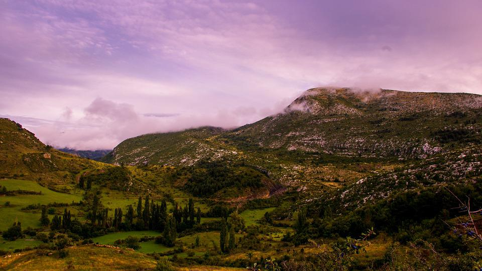 Mountain, Sky, Lleida, Sant Gervàs, Pyrenees