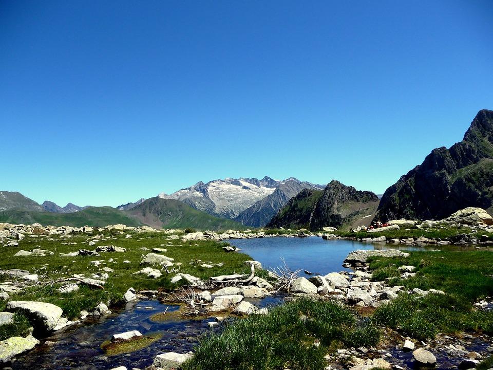 Mountain, Benasque Valley, Lake, Landscape, Pyrenees