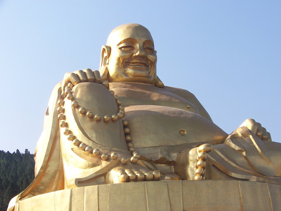 Buddha, China, Buddhism, Qianfo Mountain, Jinan, Statue
