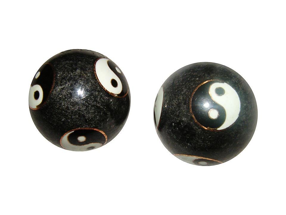 Qigong, Balls, Yinyang, Asia