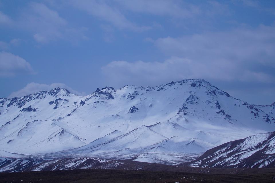 White Cloud, Prairie, Qinghai, Snow Mountain