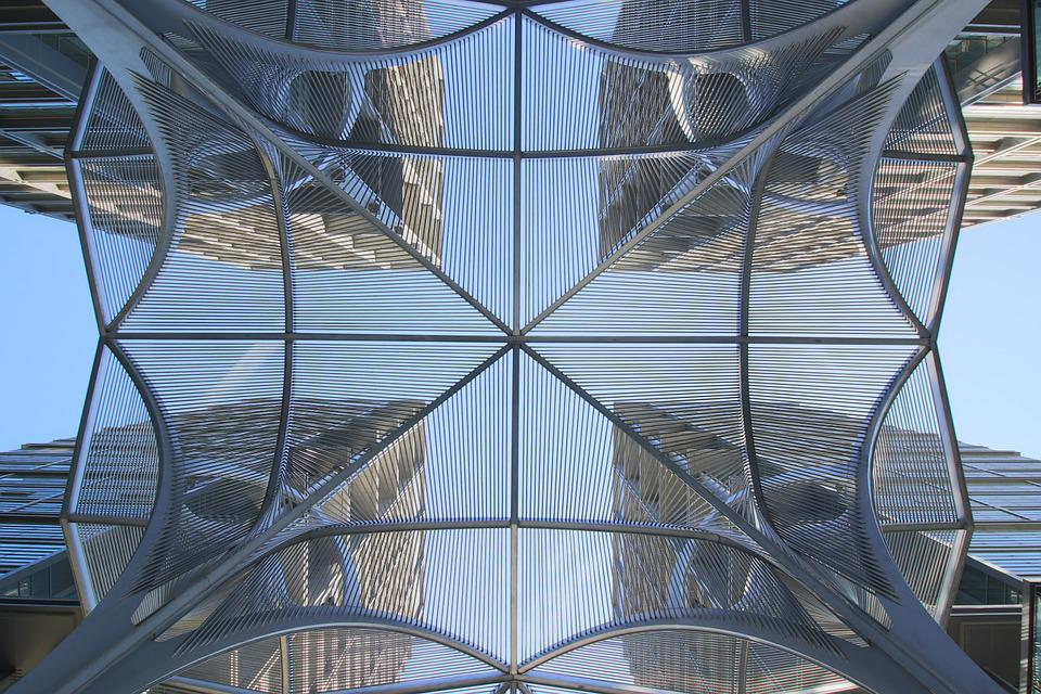 Building, Qinghua, Tall Buildings, Beijing, Symmetry