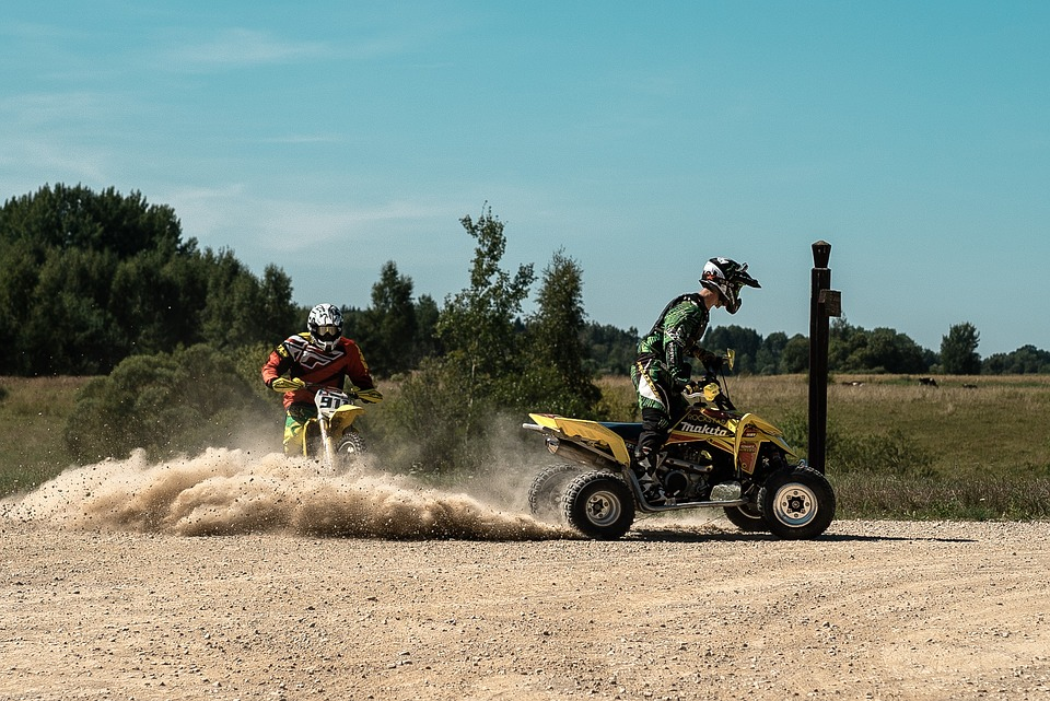 Motorcycle, Yellow Motorcycle, Quad