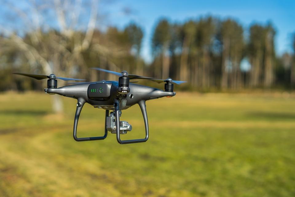 Drone, Uav, Quadrocopter, Hobby, Sky, Illuminated