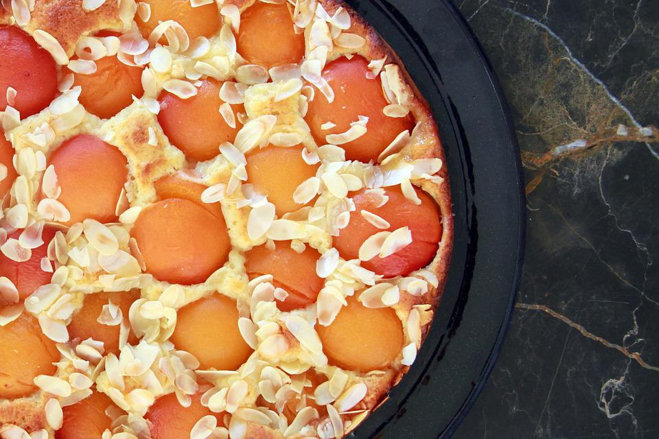 Apricot, Cake, Summer, Benefit From, Quark-oil-dough