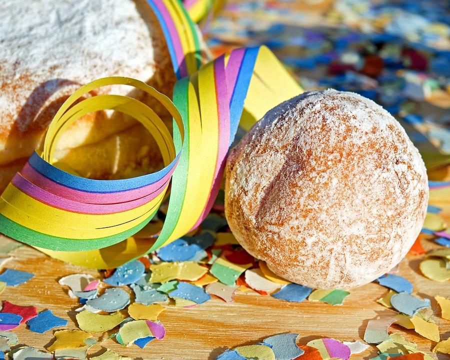Donut, Quarkini, Food, Baked Goods, Carnival