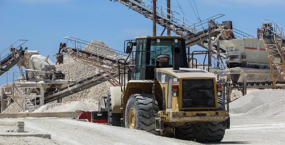 Quarry, Machinery, Bulldozer, Quarry Belts, Equipment