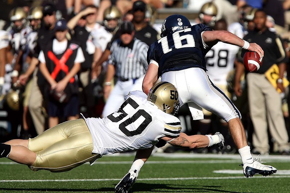 Football, American Football, Running Back, Quarterback