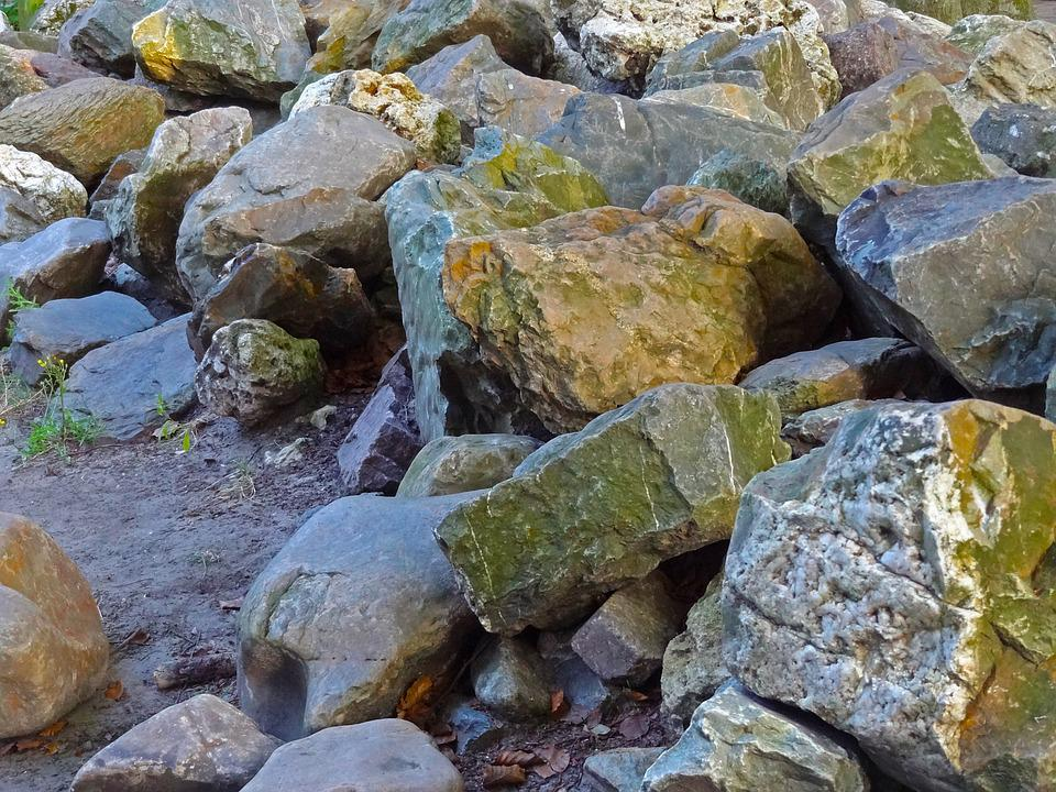 Rock, Stones, Shore Protection, Boulders, Quartz