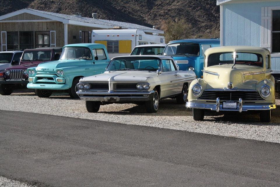 Usa, Arizona, Quartzsite, Auto, Pkw, Oldtimer