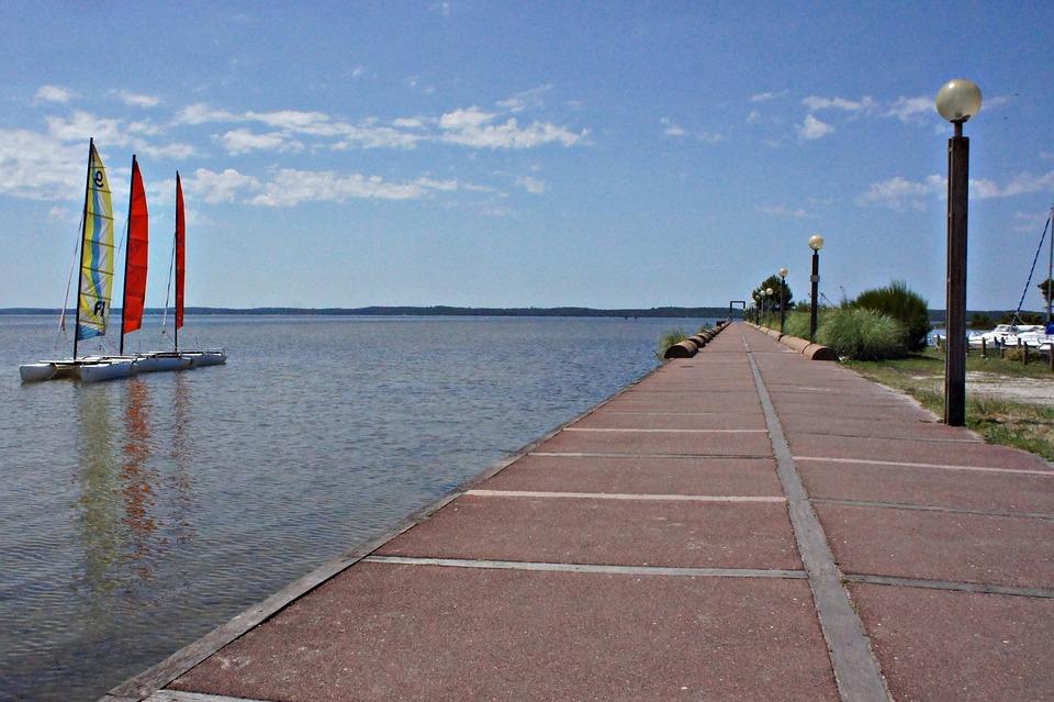 More, Water, Sailing Boat, Quay