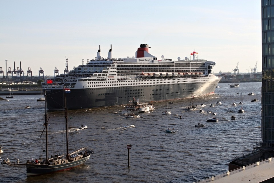 Queen, Mary, Queen Mary 2, Ship, New York, Ny, Nyc
