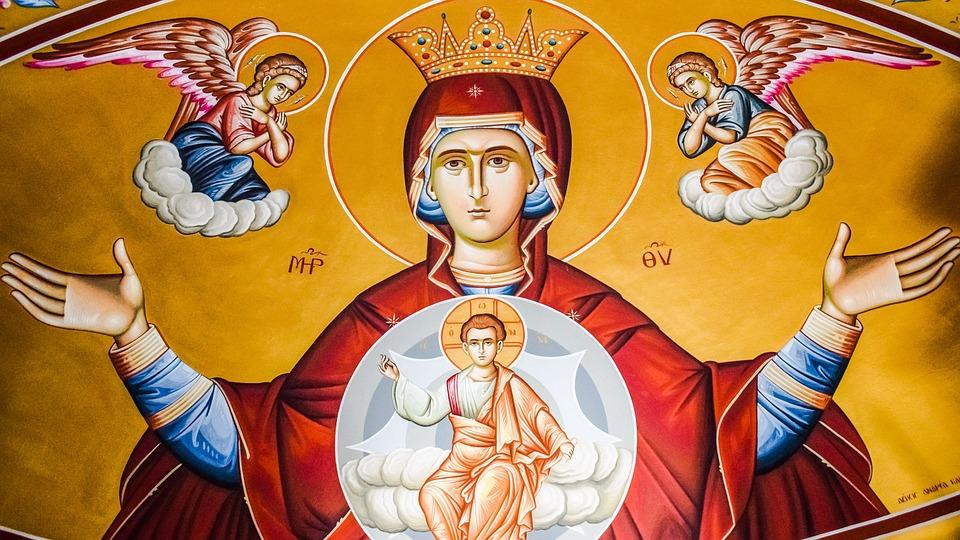 Virgin Mary, Queen Of Heaven, Iconography, Religion