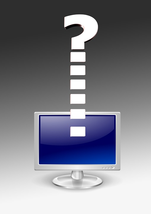 Monitor, Question Mark, Question, Problem
