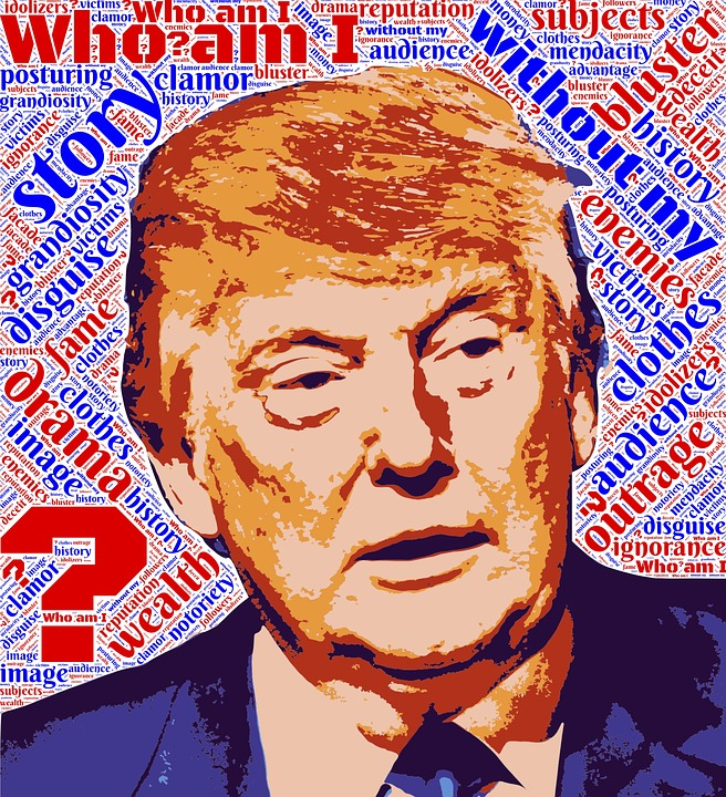 Trump, Facade, Identity, Question, Disguise, Story