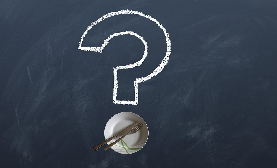Questions, Plate, Eat, Menu, Question Mark, Font