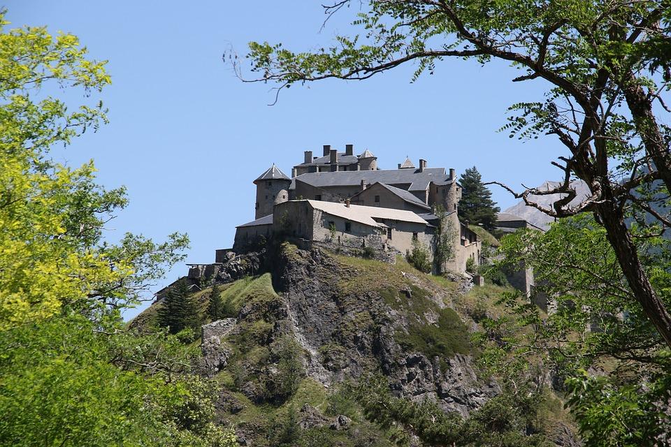 Castle, Queyras, Alps, Fortifications, Defence