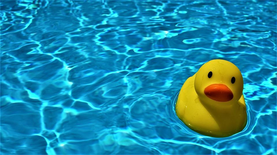 Pool, Quietscheente, Rubber Duckies, Bath Duck