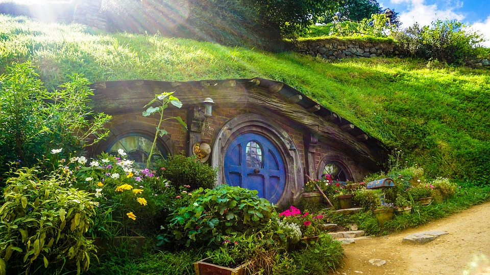 House, Home, Quirky, Movie, Hobbit, Hobbiton