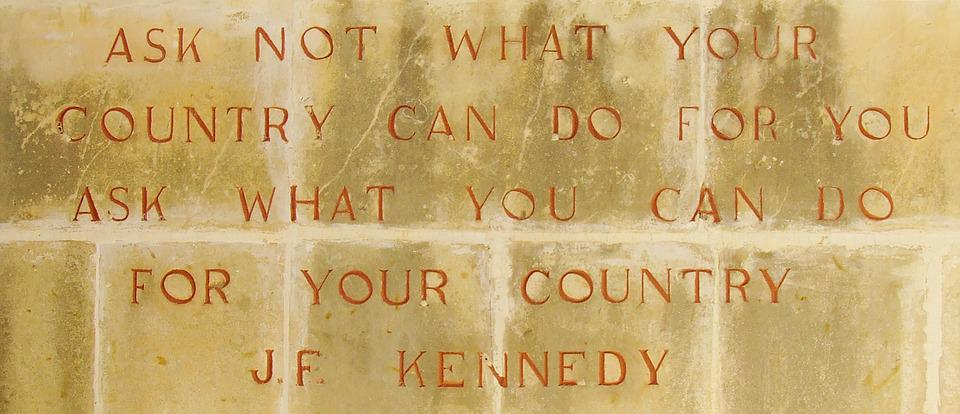 Kennedy, President, Jfk, Quote, Saying, Famous, Usa