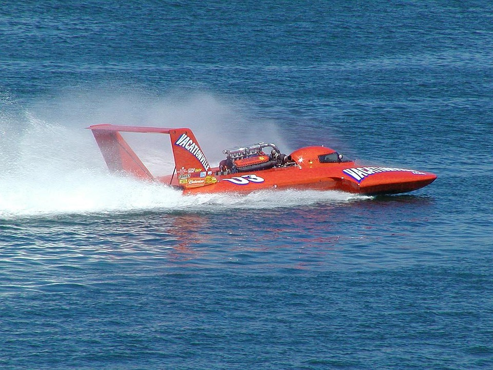 Racing Boat, Speedboat, Boot, Race, Speed, According To