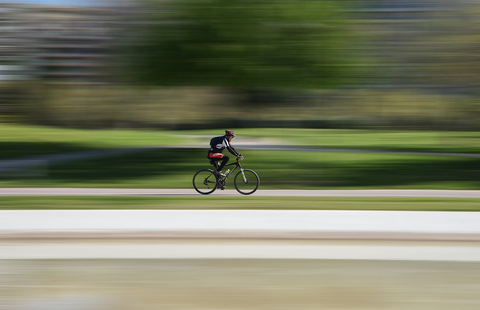 Race, Cyclist, Bike, Hurry, Action