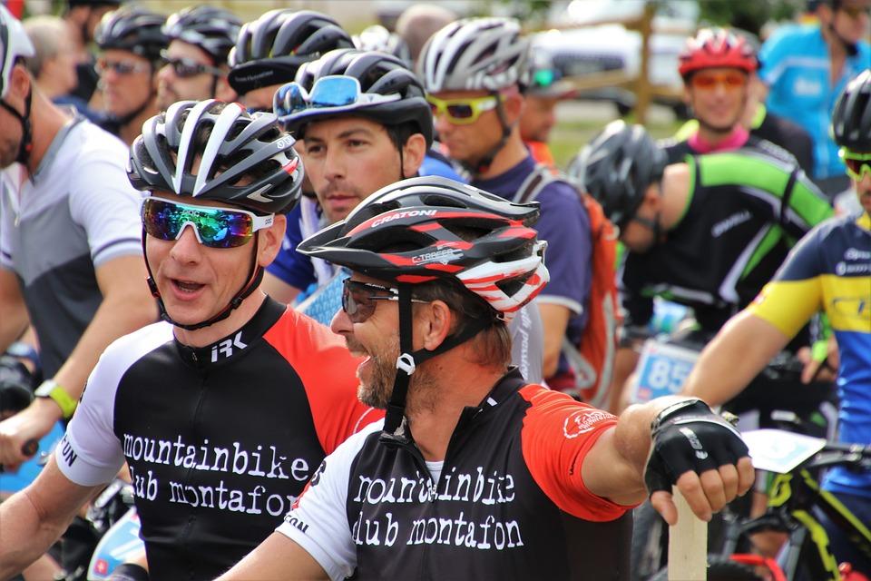 Cyclist, Helmet, Race, Sport, Active, Cycle, Hai