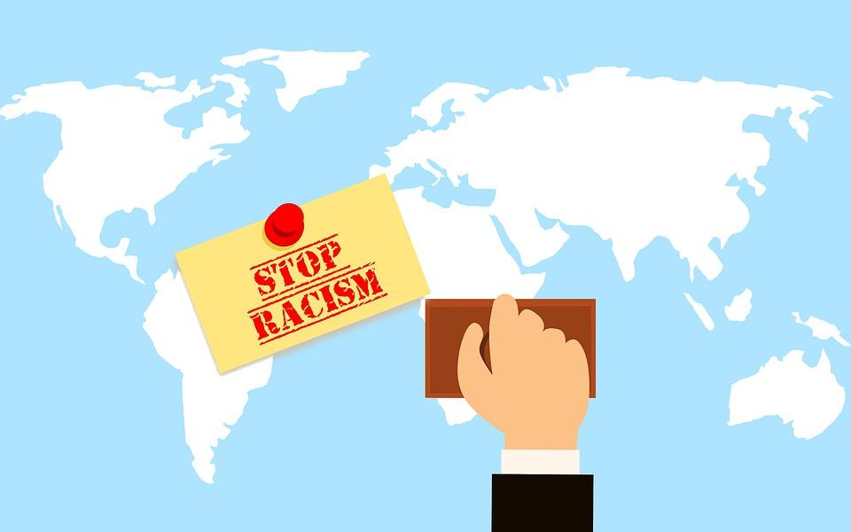 Racism, Racist, Stamp, World, Race, Equality, Flyer