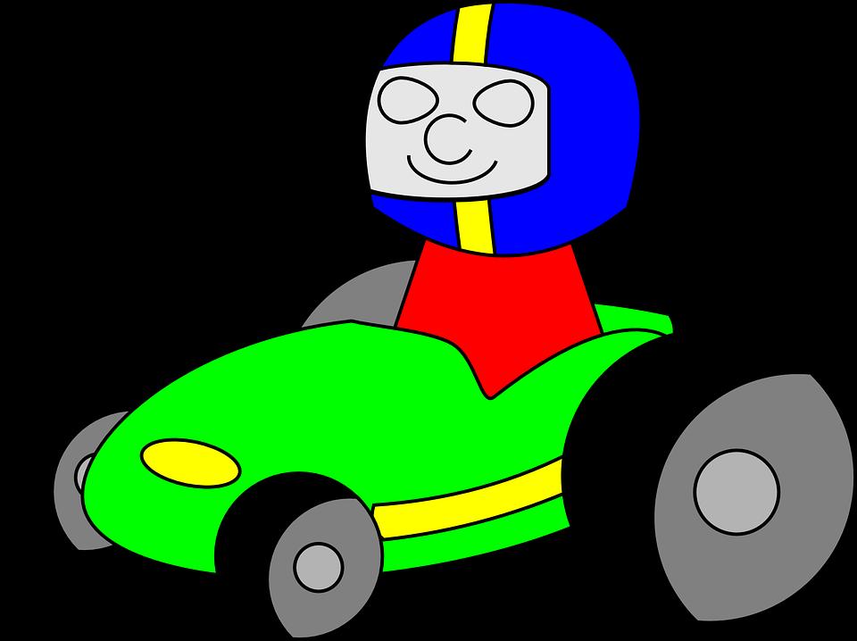 Free Photo Racing Cars Driving Go Kart Children Go Cart Kart Max