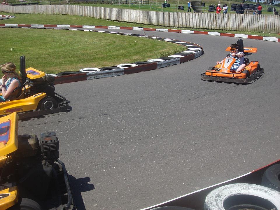 Kart, Go-cart, Go-kart, Children, Racing Cars, Driving