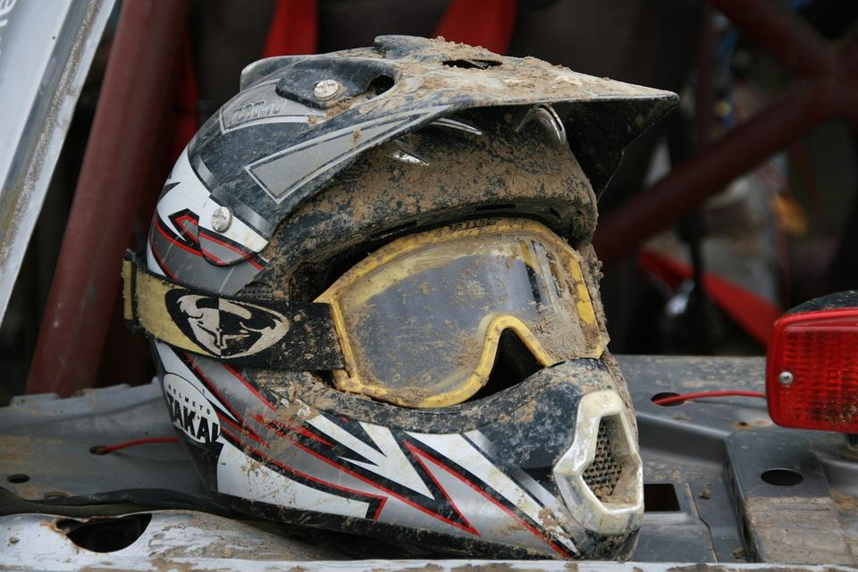 Helm, Motorbike Helmet, Rally, Mud, Race, Cross, Racing