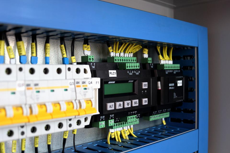 Rack, Industry, Controller, Switches, Control Cabinet