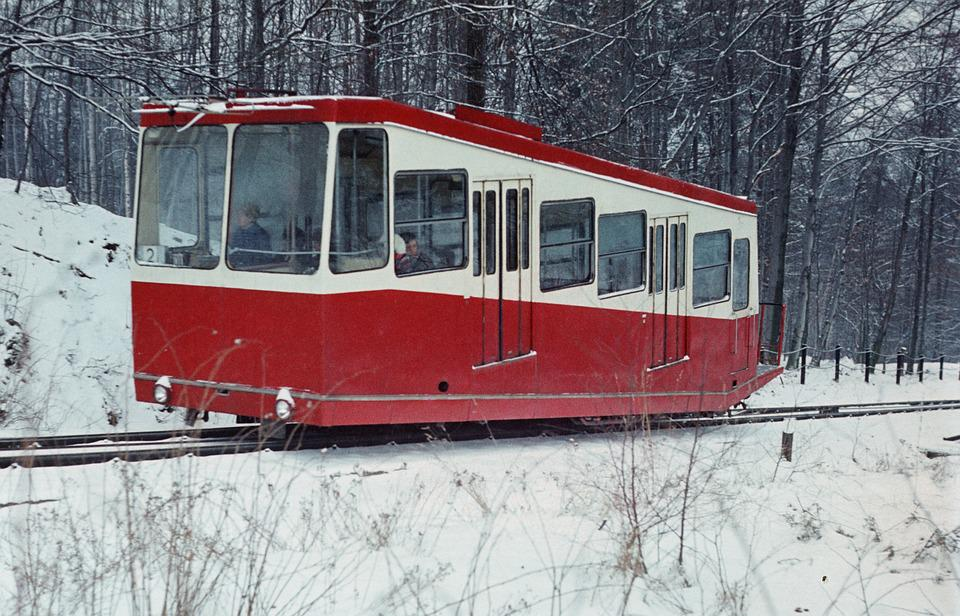 Mountain Railway, Rack Railway, Winter, Rail Traffic